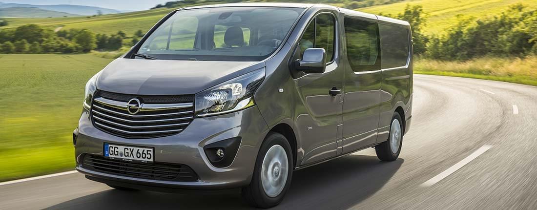 Modish Op zoek naar informatie over de Opel Vivaro? Hier vindt u PJ48