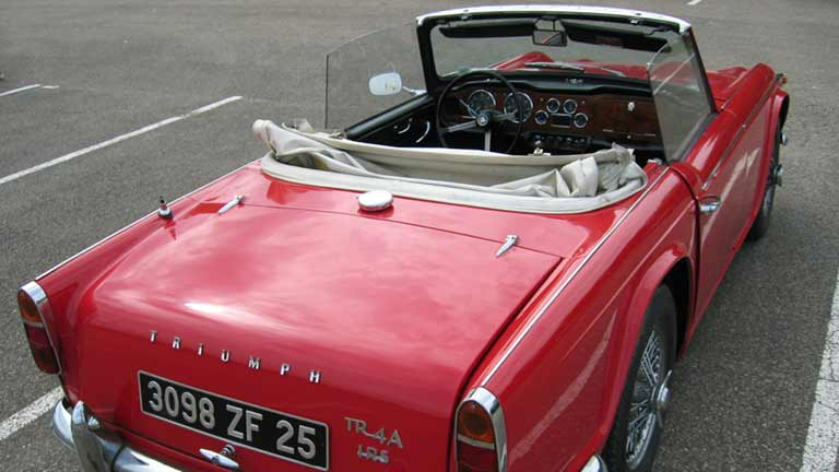 Triumph TR4 - information, prix, alternatives - AutoScout24