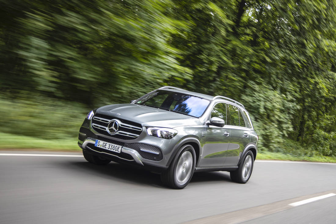 AS24 PHEV Mercedes GLE 350 de