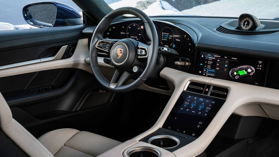high taycan interior 2019 porsche ag