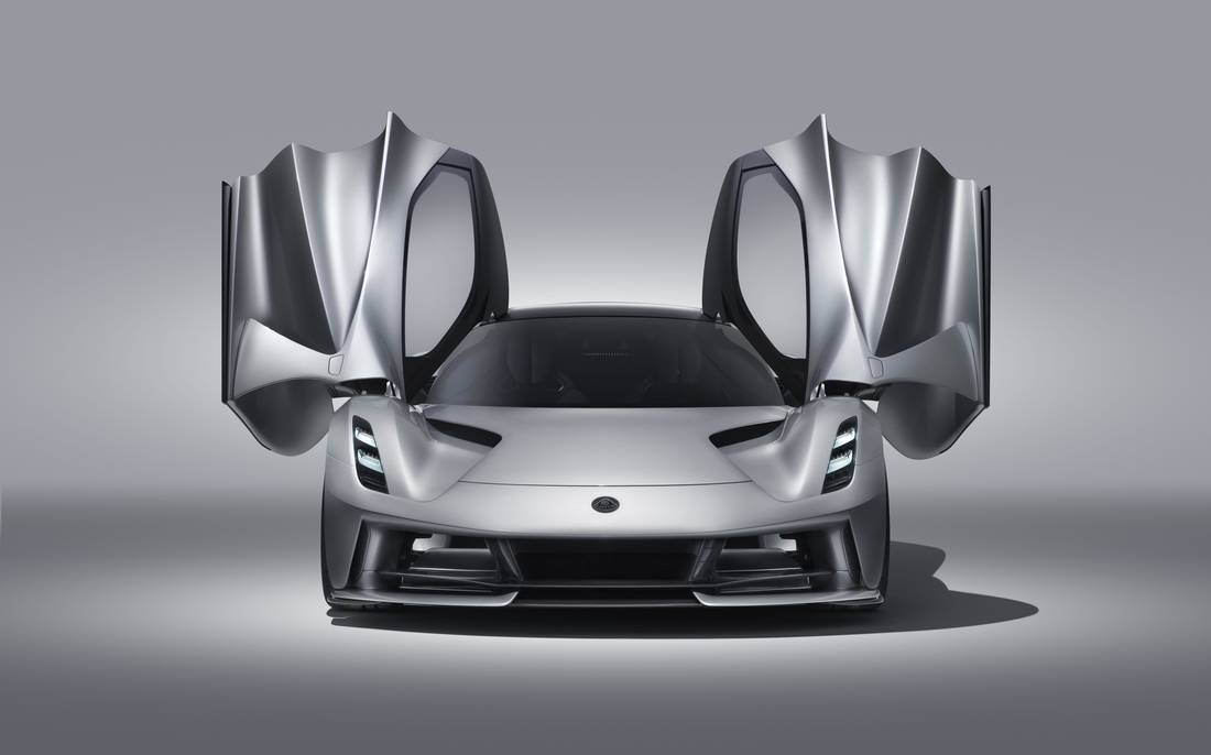 Lotus Evija Doors Open
