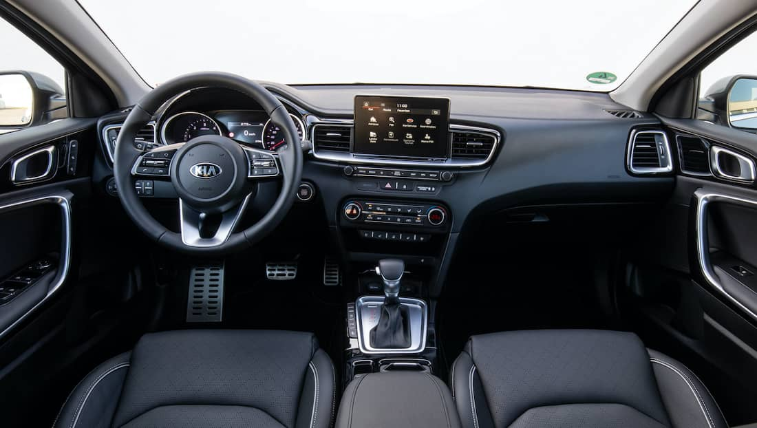 AS24 Ceed SW dashboard